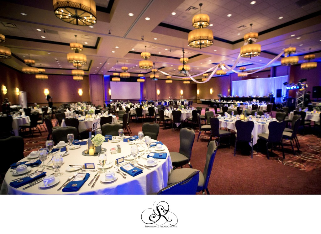 Reception Set: Potawatomi Hotel Weddings