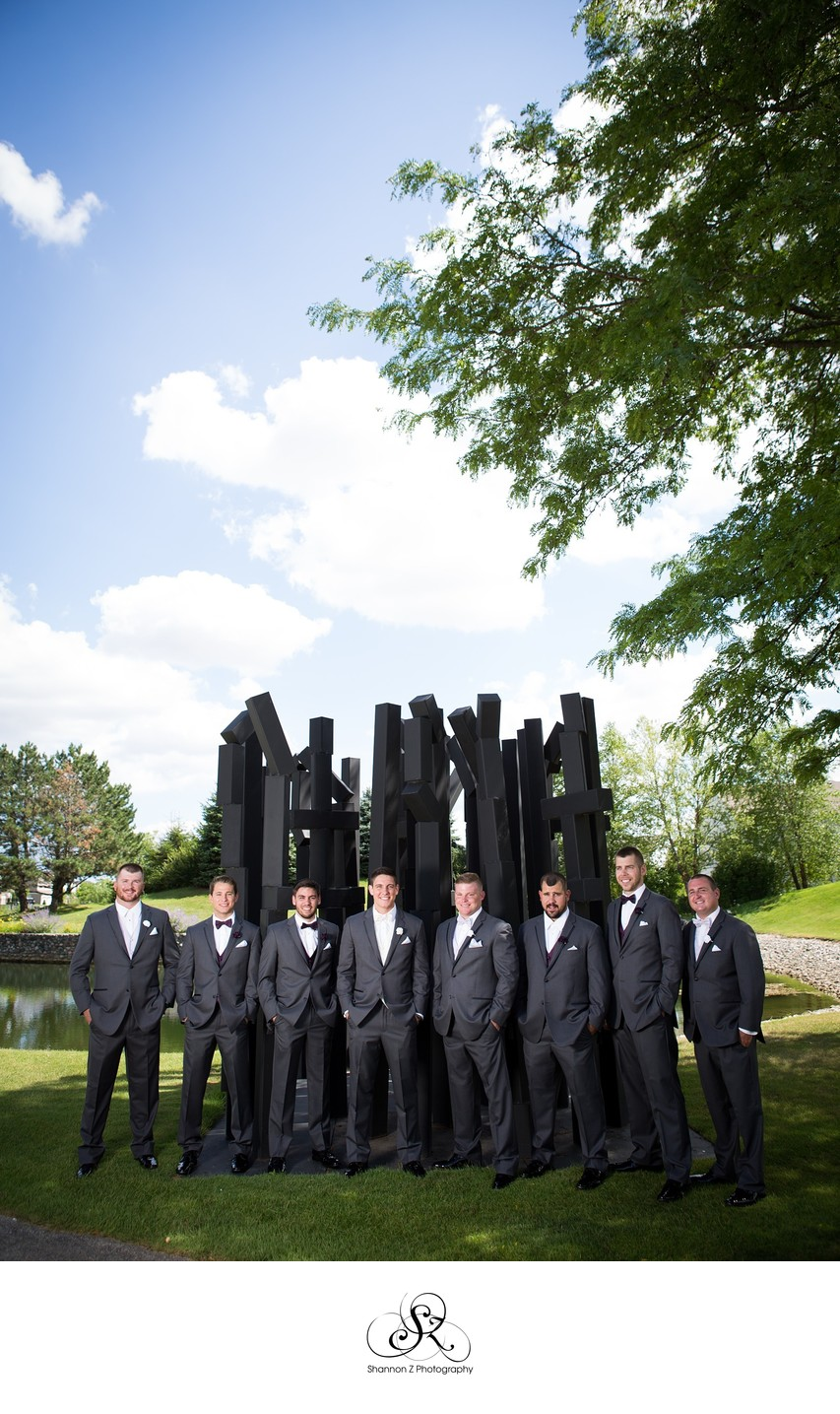 Groomsmen at Wedgewood North Shore
