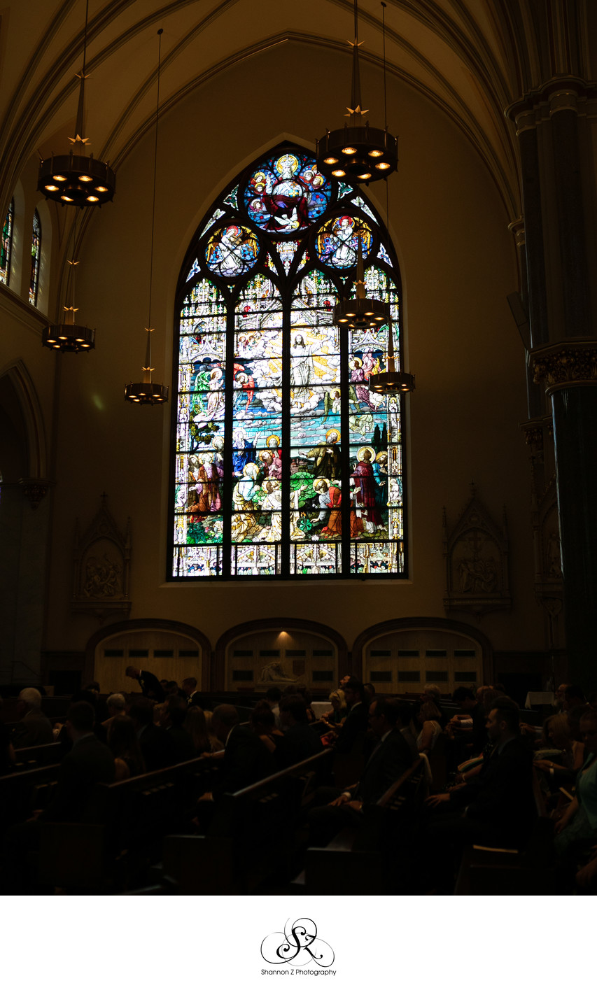 Stain Glass: Church of the Gesu Milwaukee