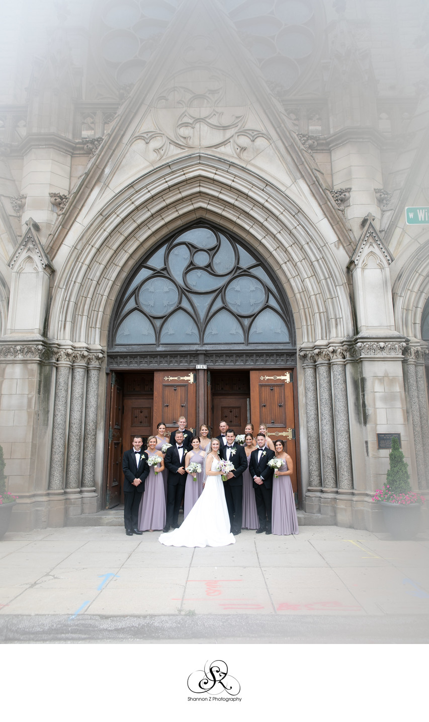 Milwaukee Wedding Photographers: Gesu Church Doors