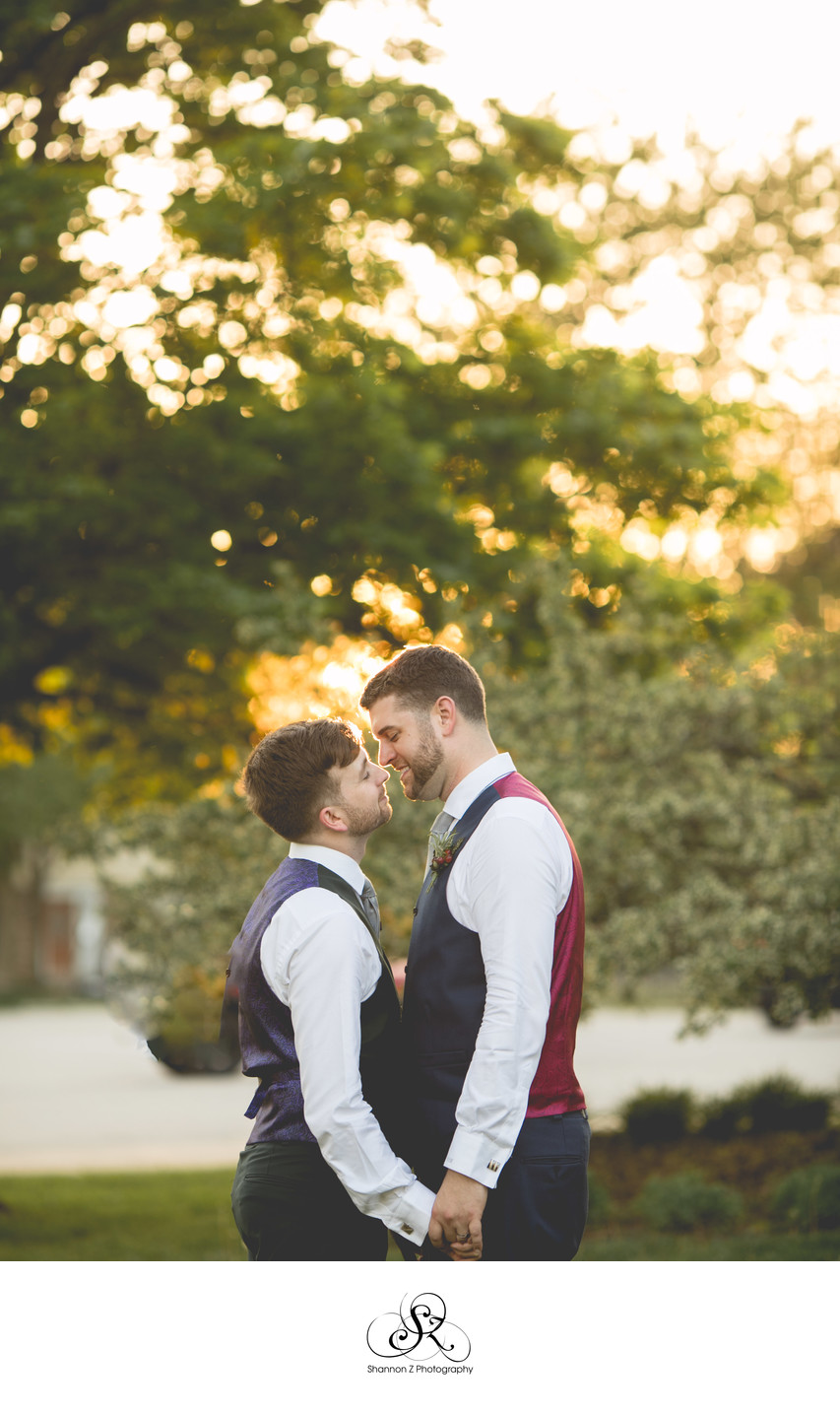 Golden Hour: LGBTQ Friendly Wedding Photography