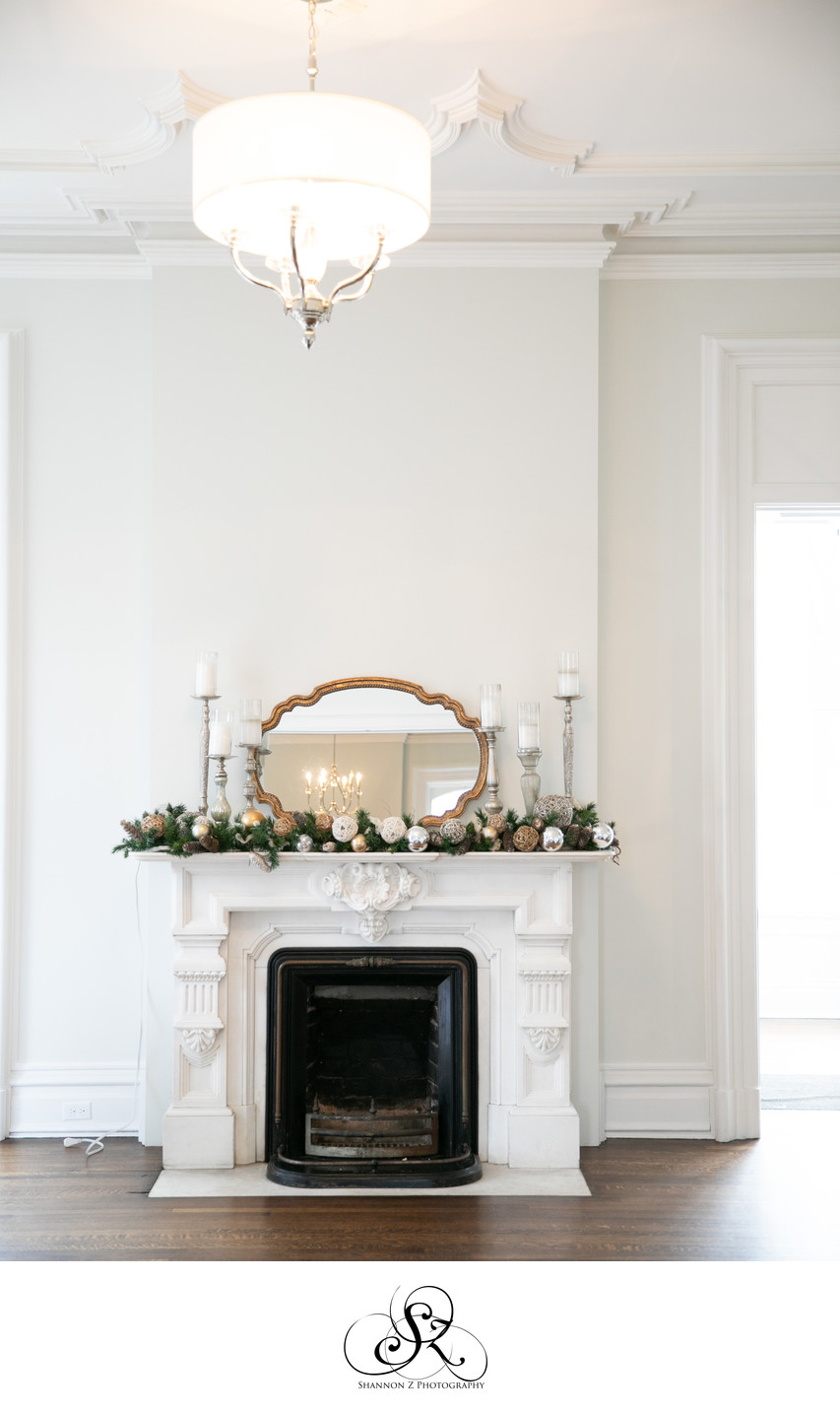 Fireplace: The Covenant at Murray Mansion