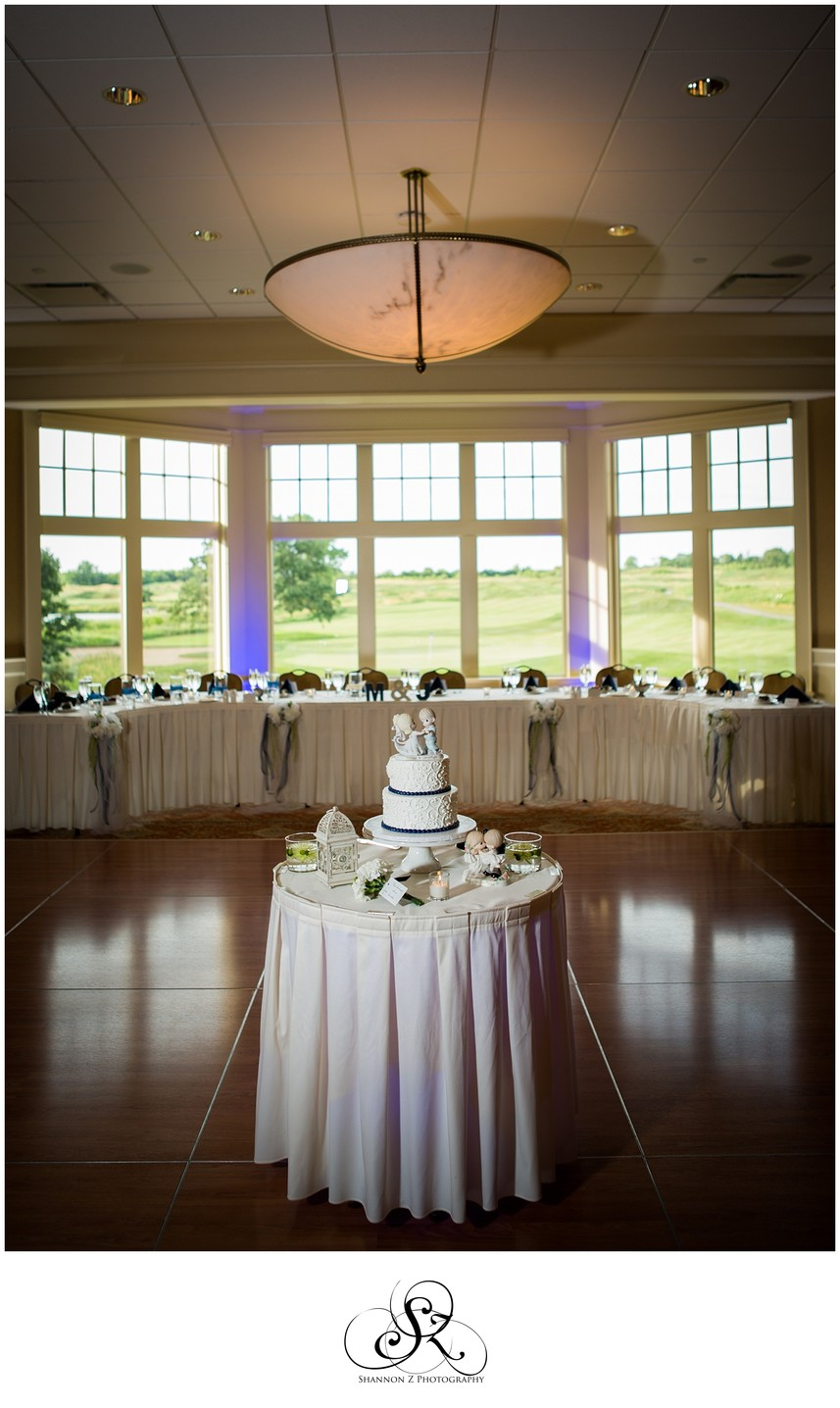 Cake Set up: Strawberry Creek Kenosha