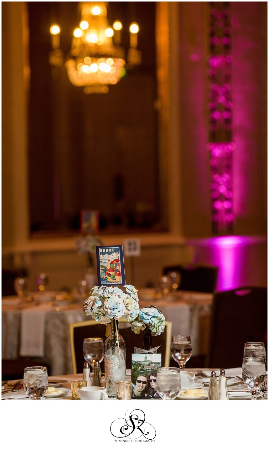 Hilton Milwaukee City Center: Table Decor