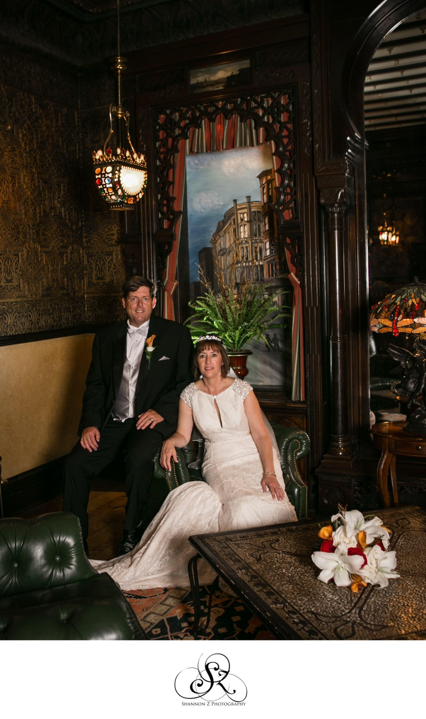 Bride and Groom: Inside the Wisconsin Club