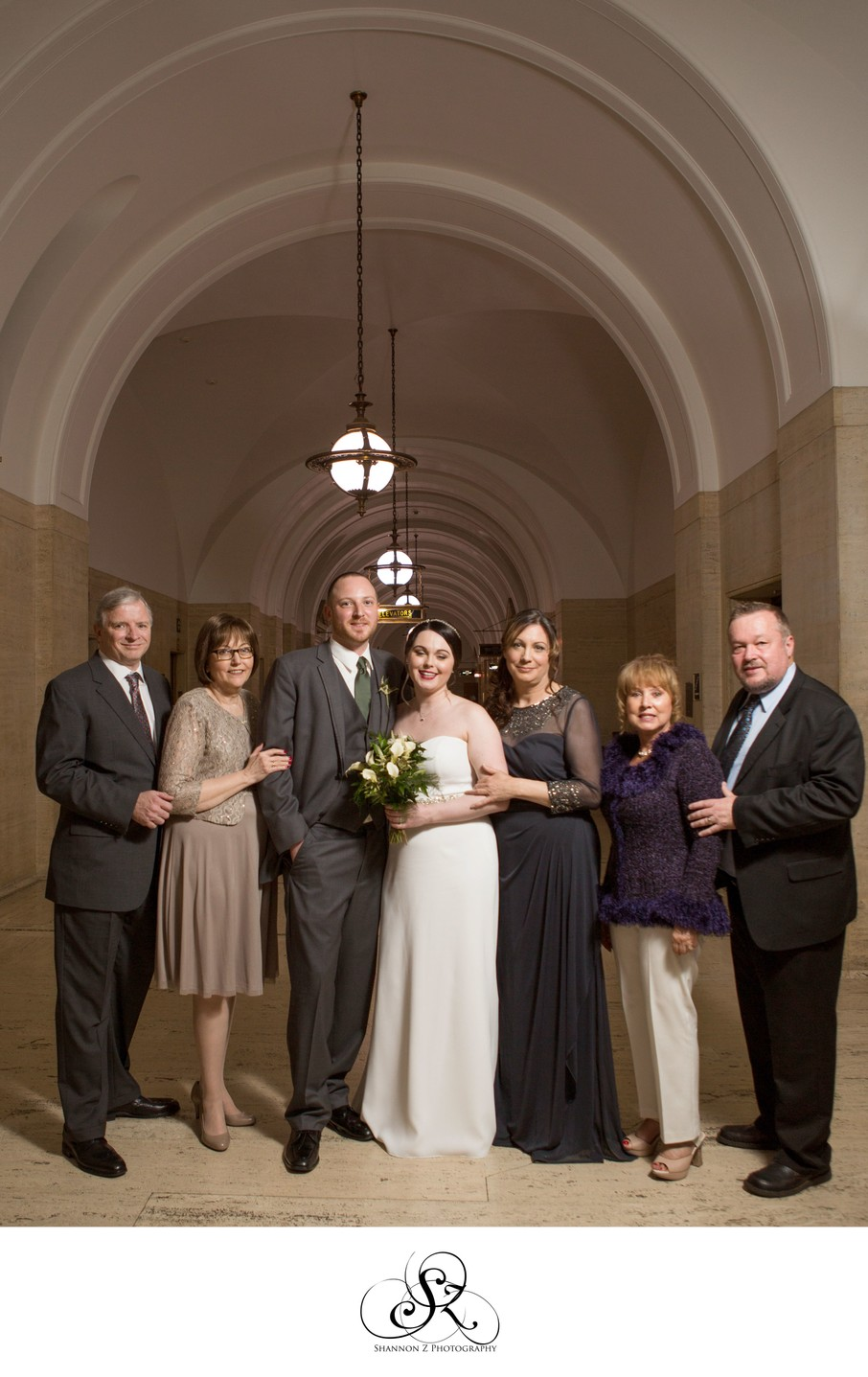 Milwaukee Courthouse Wedding: Family Portraits