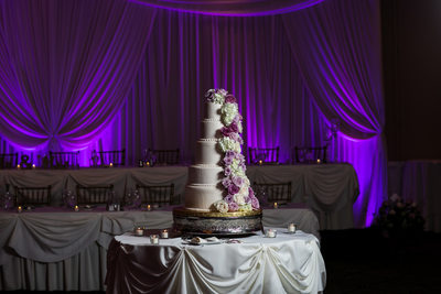 Five Tiers: Wedding Cake