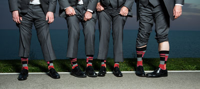 Fun Socks: Wedding Attire