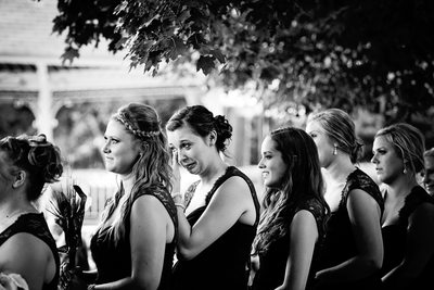 Bridesmaids: Ceremony at the Zoo