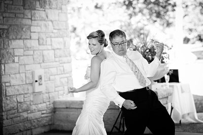 Father Daughter Dance: Air Guitar