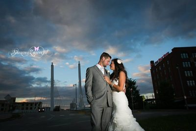 The Iron Horse Hotel: Wedding photo at Sunset