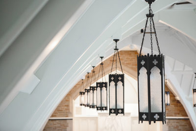 Historic Light Fixtures: Covenant at Murray Mansion