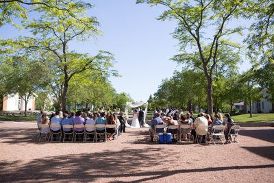 Byron Colby Barn: Outdoor Ceremony