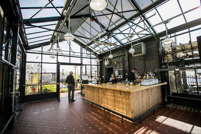 The Atrium: Bar on Rooftop