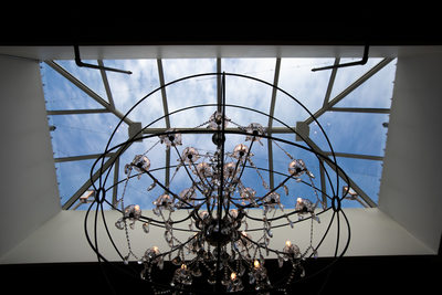 The Atrium: Chandelier Feature