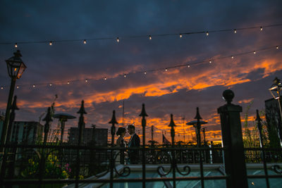 The Atrium: Rooftop Sunset