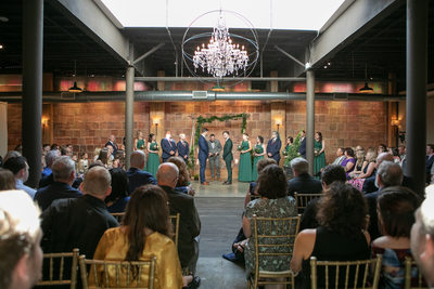 The Atrium Wedding Ceremony: Indoor Ceremony Venue