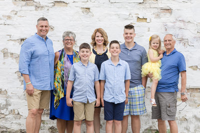 A Family Portrait: Kenosha Photographer