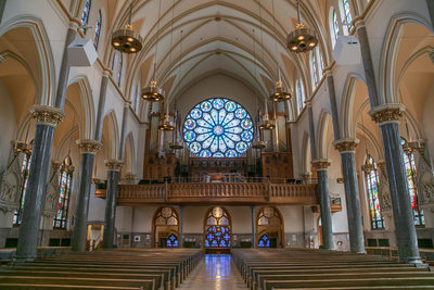Interior: Church of the Gesu Milwaukee