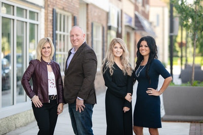 Real Estate Team Headshot: Kenosha Photographer