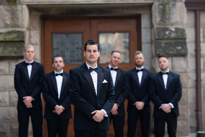 Tuxes: Milwaukee Wedding Photographers