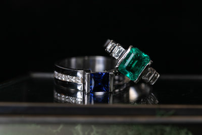 Custom Rings: LGBTQ Friendly Wedding Photography