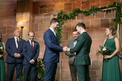 Ring Exchange: LGBTQ Friendly Wedding Photography