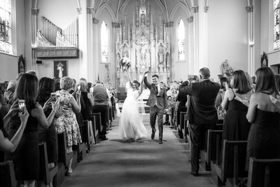 Burlington Wedding Photographer: Just Married