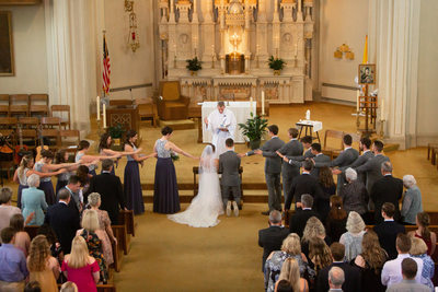 Burlington Wedding Photographer: Ceremony Prayer