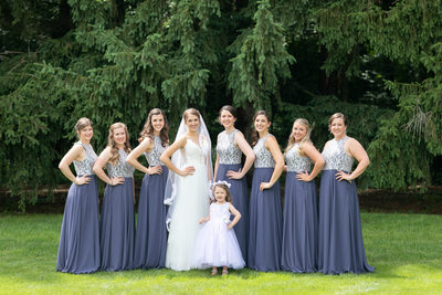 Burlington Wedding Photographer: Bridesmaids