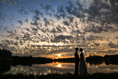 Burlington Wedding Photographer: Sunset Lake