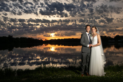 Epic Sunsets: Wedding Day Portraits