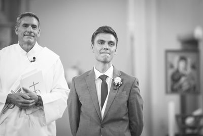 Grooms First Look: Burlington WI Photographer