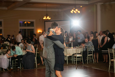 Mother Son Dance: Veterans Terrace Wedding