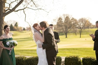 Wedding Ceremony: Kenosha Country Club