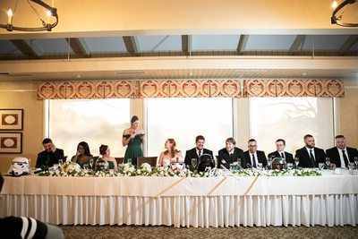 Sunset: Kenosha Country Club Wedding