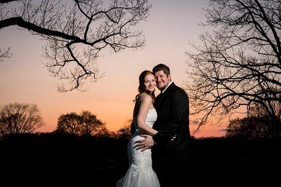 Kenosha Country Club Wedding: Sunset