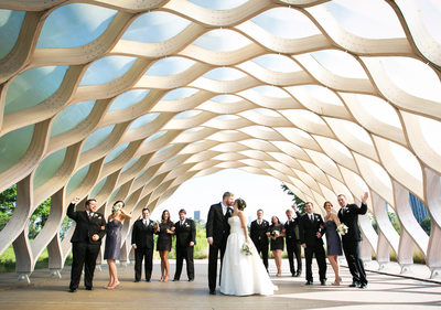 Honeycomb Arch: Chicago Weddings