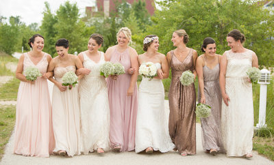 Rose Wedding Party: Sheboygan Photographer