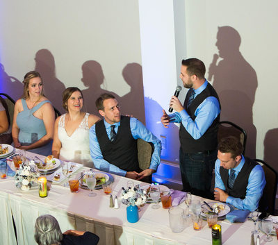 Circa on Seventh: Reception Toasts
