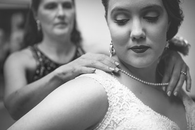 Getting Ready: Mom of Bride