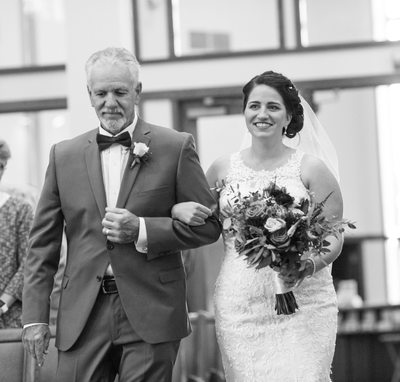 Processional: Bride and her Dad
