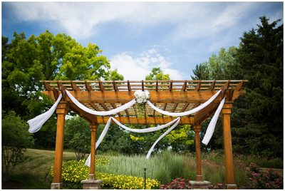 Strawberry Creek: Wedding Pergola