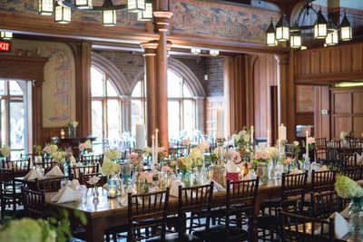 Historic Pabst Brewery Wedding: Blue Ribbon Hall