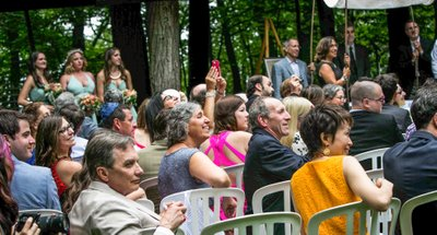 Wedding in the Woods: Schlitz Audubon Nature Center