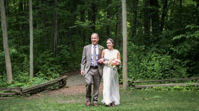 Schlitz Audubon Nature Center: Wedding in the Woods