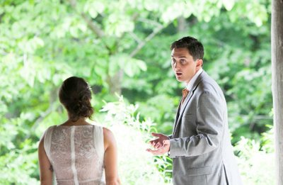 First Look: Schlitz Nature Center Wedding