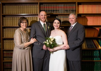 Milwaukee Courthouse Wedding: Family Photos