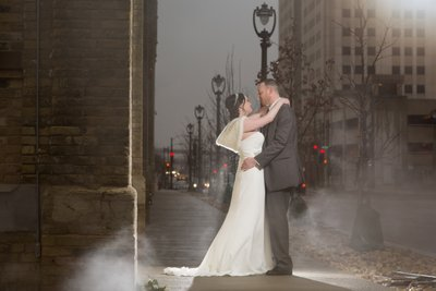Milwaukee Courthouse Wedding: Photos by Pabst