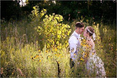 Flower Field: Wedding Photos